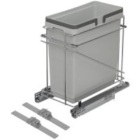 "12"" WASTE BIN - ONE 35 QUART - FITS 15"" BASE CABINET (SOLD SEPAR"